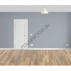 Паркетная доска Polarwood Ясень Ливинг белёный / Ash Living White Matt Loc 3S 2266х188х14 мм